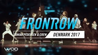 Toniah Pedersen Crew   FrontRow   World of Dance Denmark Qualifier 2017   #WODDK17