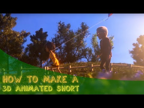 How You Can Make A 3D Animated Short Film With No Budget By Yourself!