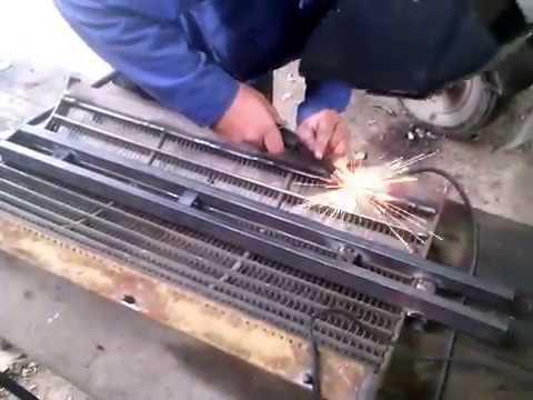 ремонт підбарабання комбайна sampo 580 в домашніх умовах