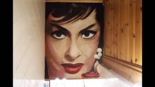 Time lapse of Gina Lollobrigida Mural