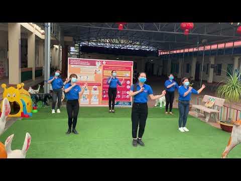 Chi đoàn thanh niên trường mầm non Công ty giấy Hoàng Văn Thụ tuyên truyền phòng chống dịch Cvid với bài nhảy Điệu nhảy Ghen Cô Vy