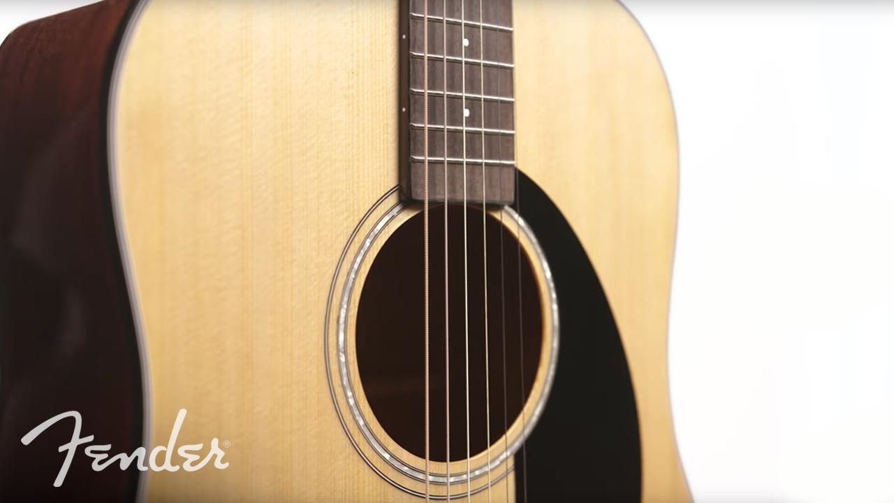 Fender CC-140SCE - SB Video