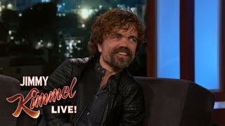 Peter Dinklage on Game of Thrones Cast Pranks - Video Youtube