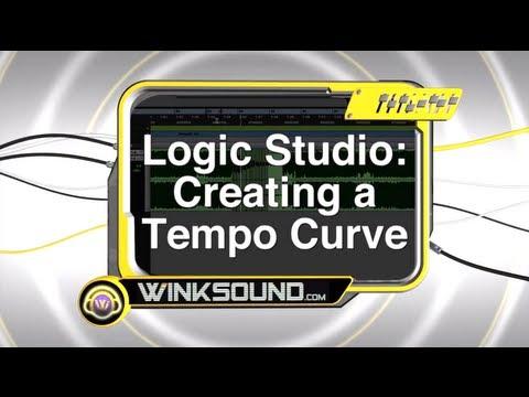 Logic Pro: Creating a Tempo Curve | WinkSound