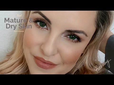Bronzer, Highlighter & Blush for Mature & Dry Skin || Hourglass Review- Elle Leary Artistry