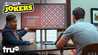 Impractical Jokers - S'moregasbord: Q's American Tale (Clip) | truTV