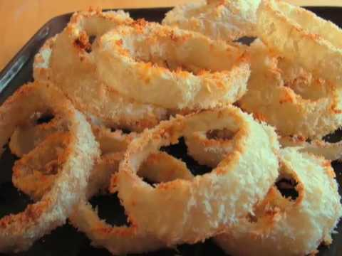 "Oven-Fried Onion Rings aka ""Ovenion Rings"""