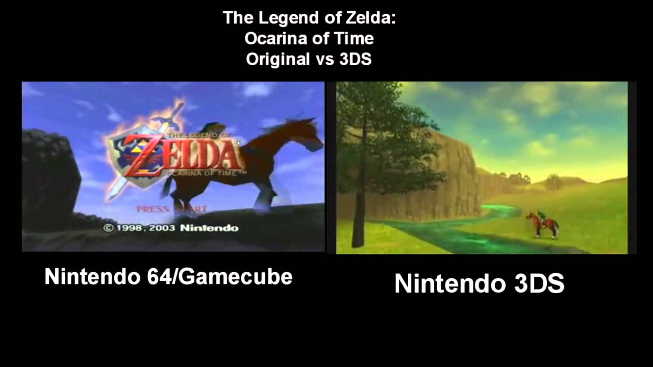 Did They Improve The Ocarina Of Time's Graphics Enough For You?