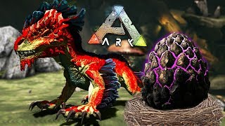 ARK: Survival Evolved - BABY ROCK DRAKE EGG HATCHING & RAISING!! (ARK Aberration)