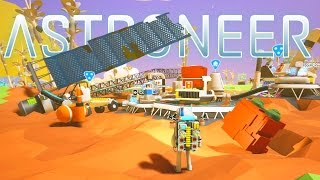 Astroneer - Ep. 6 - Giant Solar Panel and Planet Exploration! - Let