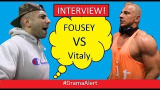 FouseyTube vs  VitalyzdTv (INTERVIEW!) Only on #DramaAlert !!!