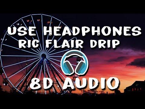 21 Savage, Offset, Metro Boomin - Ric Flair Drip (8D Audio)