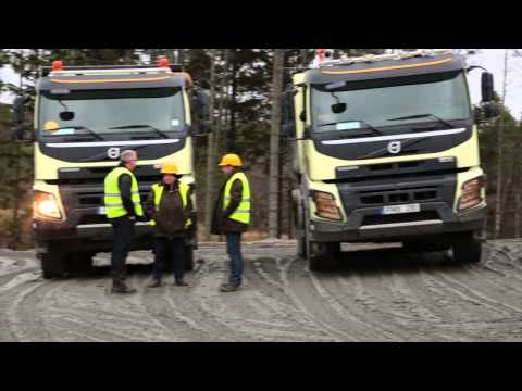 Volvo FMX construction truck