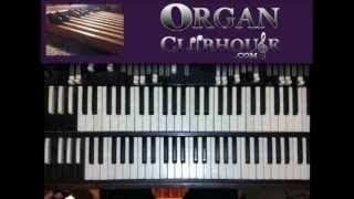 "♫ How to play ""SPEECHLESS"" by Anita Wilson (easy gospel organ lesson tutorial)"
