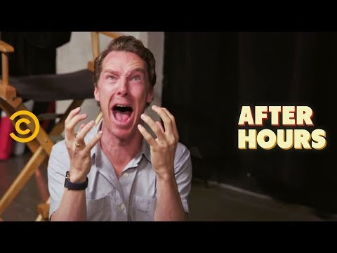 Benedict Cumberbatch's Unconventional Acting Class - After Hours with Josh Horowitz (видео)