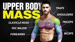 The 4 Best UPPER BODY Workouts for Mass (Chest/Shoulders/Back/Arms)