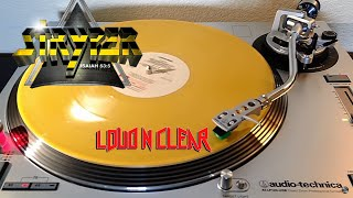 Stryper - Loud N Clear - (1984) Yellow Marble Vinyl LP