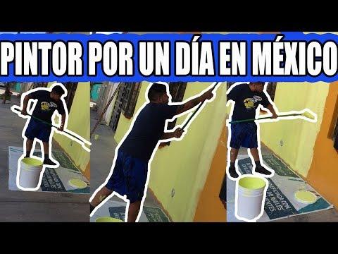 🔴TRABAJO COMO PINTOR EN MÉXICO POR UN DÍA   JOSS RODRIGUEZ🔴