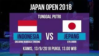 Live Streaming Japan Open 2018 Tunggal Putri, Lyanny Alessandra Vs Jepang Pukul 13.00 WIB