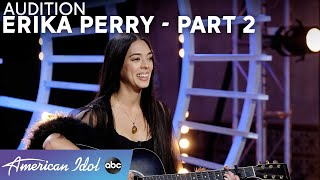 Annoying? Katy Perry Delivers Erika Perry Some Honest Feedback! Part 2 - American Idol 2021