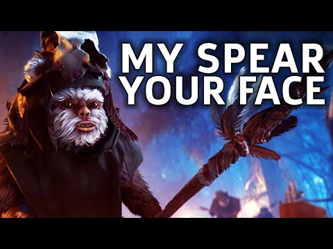 Become The Ewok – Star Wars Battlefront 2 Gameplay