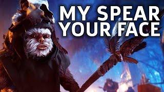 Become The Ewok – Star Wars Battlefront 2 Gameplay