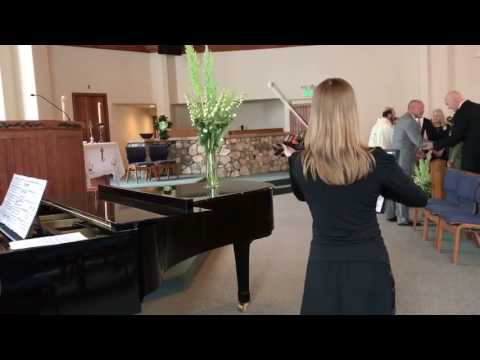 A clip of Vivaldi's Winter played at a wedding in Beaver Creek.
