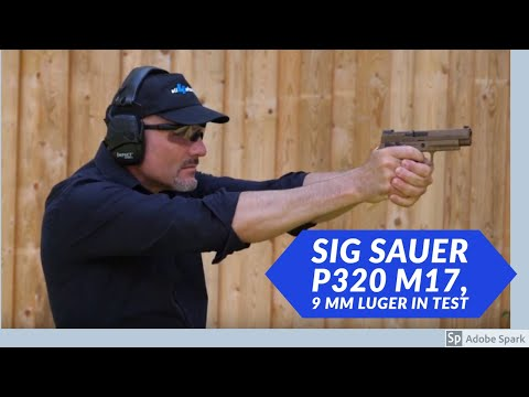 sig-sauer: Test and video: SIG Sauer P320-M17 in 9mm – the civilian version of the US Army service pistol