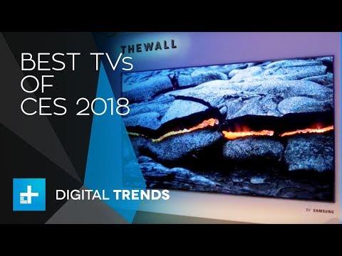 Best TVs of CES 2018 (видео)