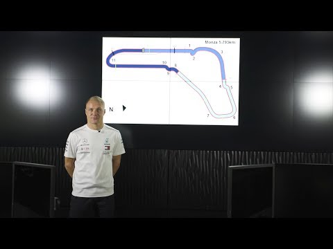 Monza F1 Circuit Guide with Valtteri Bottas & PETRONAS