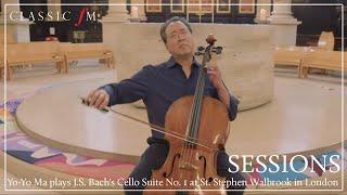 Yo-Yo Ma plays J.S. Bach's Cello Suite No. 1 at St. Stephen Walbrook in London