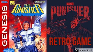 Picture of a game: The Punisher (sega Genesis)