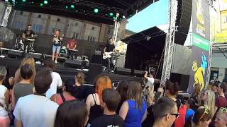 Video Skyline feat Evelynne @SmíchovOpenAir2013