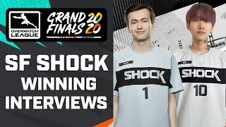 ​@San Francisco Shock One of the BEST ESPORTS Teams of All Time?! — Grand Finals Winning Interviews