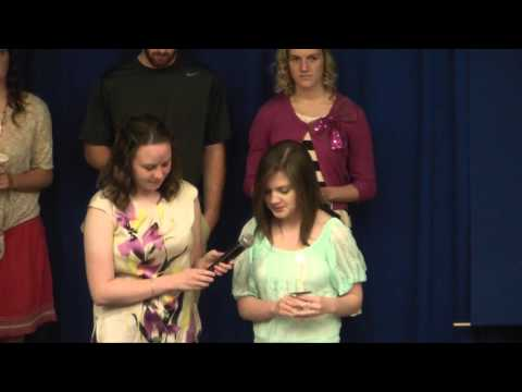 Alpha Chi Induction 2013
