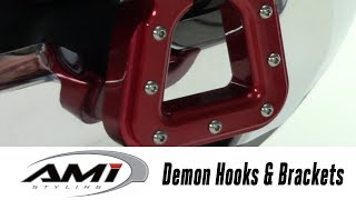 In the Garage™ with Total Truck Centers™: AMI Styling Demon Hooks & Brackets