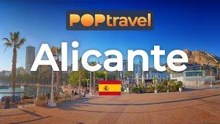 Walking In ALICANTE / Spain 🇪🇸- 4K 60fps (UHD)