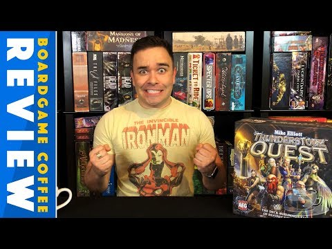 Thunderstone Quest Review with BoardGame Coffee