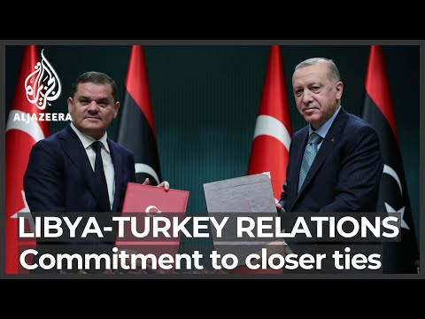 Turkey and Libya renew commitment to contested maritime deal