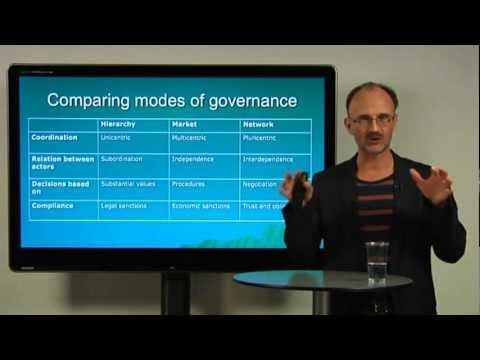 Governance Networks, MetaGovernance and Democracy