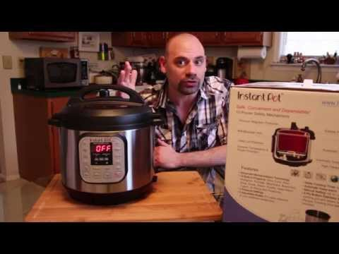 Instant Pot DUO60 6 Qt 7-in-1 Multi-Use Programmable Pressure Cooker Review - Great Video