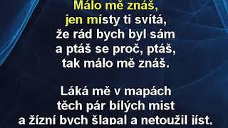 Málo mě znáš - Miroslav Dudáček Karaoke tip