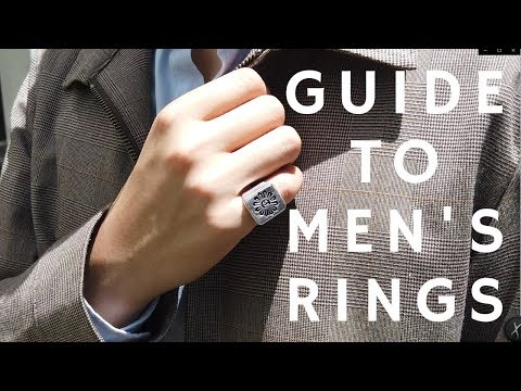 A Guide to Men's Rings | Inspo, History, Tutorial
