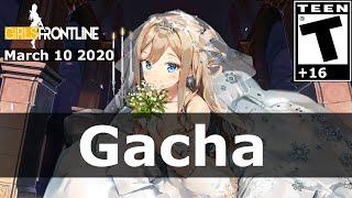 Suomi  - (Girls' Frontline) - Girls Frontline [EN] - Finally got Suomi wedding dress with 5,390 tokens. BAD RNG over $600 CAD?