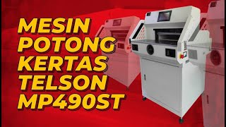 Mesin Potong Kertas Telson MP 490 ST