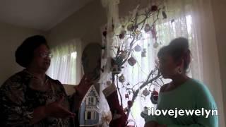 DIY: My Grandmas Shabby Chic Christmas Tree