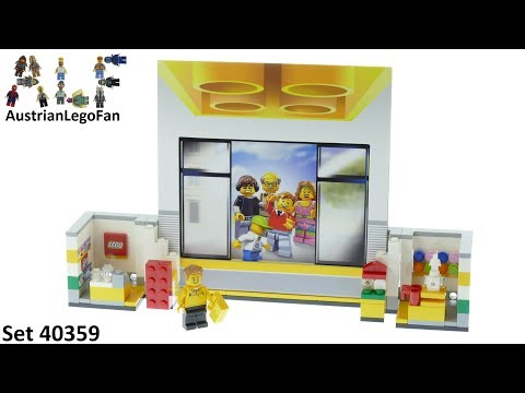 Vidéo LEGO Objets divers 40359 : Cadre LEGO Store