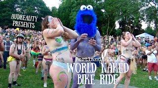 Portland's World Naked Bike Ride - FULL (2018)