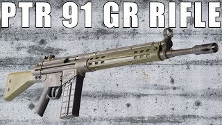 PTR 91 GIR, .308 Caliber Semi-Auto Rifle, Roller Lock Action PTR-101