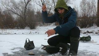 Рыбалка зимой на реке чулым